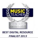Screen shot Music Teacher Award 2013