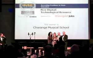 Charanga Musical School wins Best Digital/Technological Resource