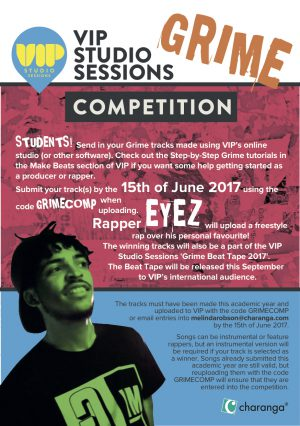 VIP Grime Competition Flyer