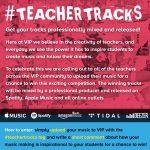 VIP Teachers' competition flyer