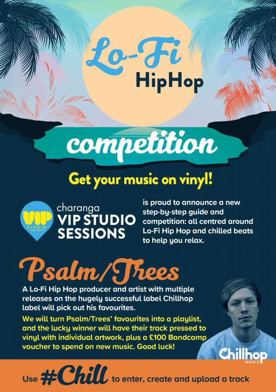 VIP Lo-Fi Hip hop competition flyer