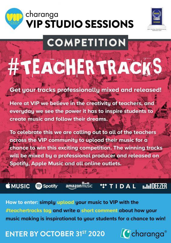 VIP Teacher Tracks Flyer