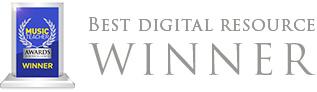 Winner of Best Digital Resource in the Music Teacher Magazine Awards 2015